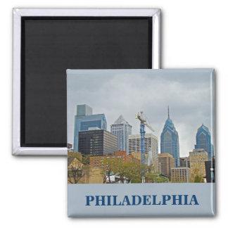 Horizonte de Philadelphia del paseo del río Iman Para Frigorífico