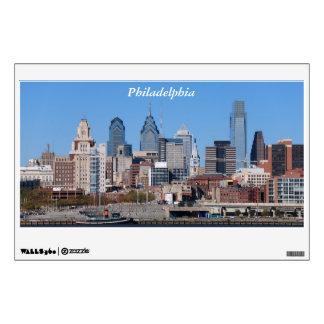 Horizonte de Philadelphia en la luz del día Vinilo