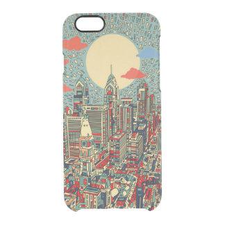 horizonte de Philadelphia Funda Clearly™ Deflector Para iPhone 6 De Uncommon