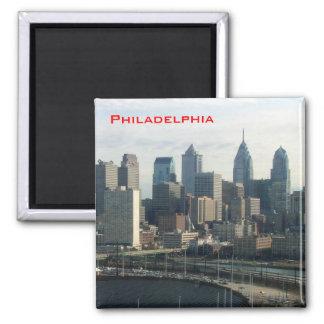Horizonte de Philadelphia Imanes De Nevera
