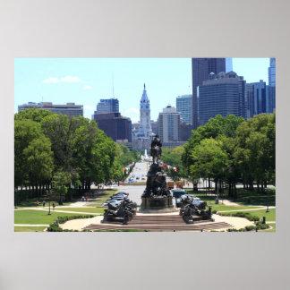 Horizonte de Philadelphia Impresiones