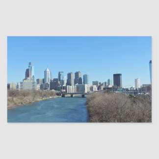 Horizonte de Philadelphia Rectangular Altavoces