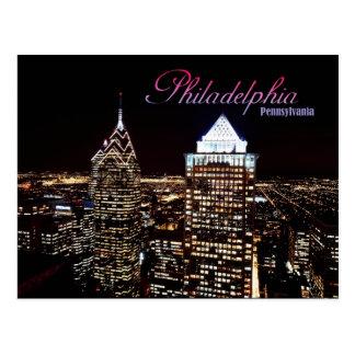 Horizonte de Philadelphia, Pennsylvania Postales