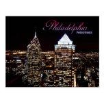 Horizonte de Philadelphia, Pennsylvania Tarjetas Postales