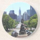 Horizonte de Philadelphia Posavasos Diseño
