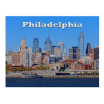 Horizonte de Philadelphia, postal media de la visi