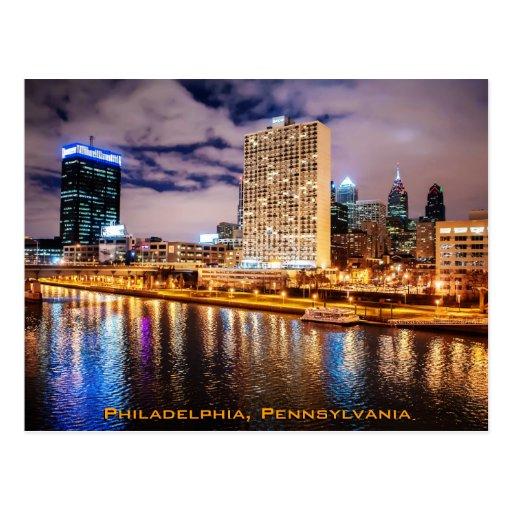 Horizonte de Philadelphia Postales