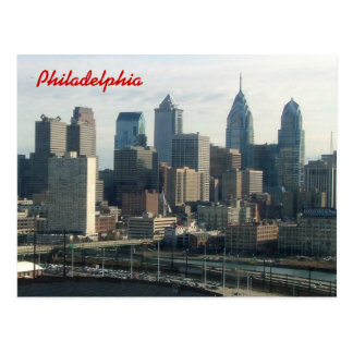 Horizonte de Philadelphia Tarjetas Postales