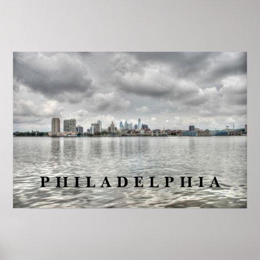 Horizonte de Philly Póster
