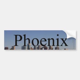Horizonte de Phoenix con Phoenix en el cielo Pegatina Para Auto