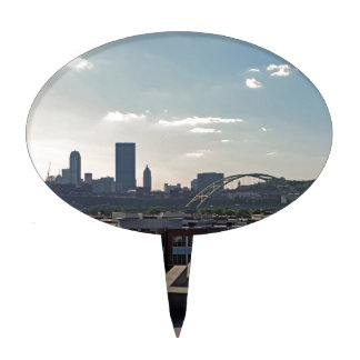 Horizonte de Pittsburgh Decoración De Tarta