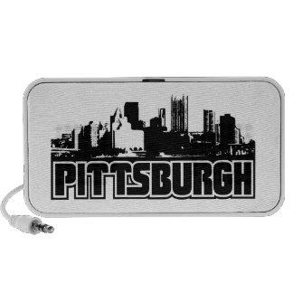 Horizonte de Pittsburgh iPhone Altavoces