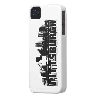 Horizonte de Pittsburgh Carcasa Para iPhone 4 De Case-Mate