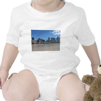 Horizonte de Pittsburgh del parque de PNC Trajes De Bebé