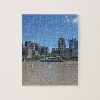 Horizonte de Pittsburgh del parque de PNC Puzzles Con Fotos