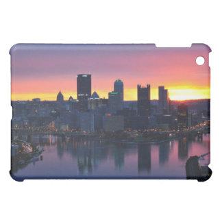 Horizonte de Pittsburgh en el caso del iPad del am