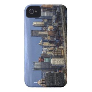 Horizonte de Pittsburgh iPhone 4 Cárcasa