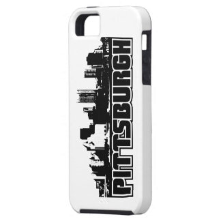 Horizonte de Pittsburgh Funda Para iPhone 5 Tough