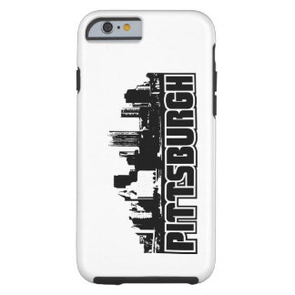 Horizonte de Pittsburgh Funda De iPhone 6 Tough