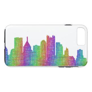 Horizonte de Pittsburgh Funda iPhone 7 Plus