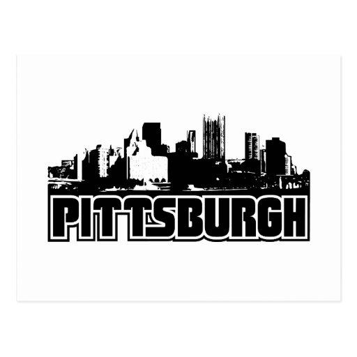 Horizonte de Pittsburgh Postales