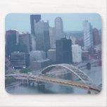 Horizonte de Pittsburgh Tapetes De Raton