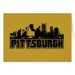 Horizonte de Pittsburgh Tarjeta