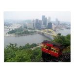 Horizonte de Pittsburgh Tarjeta Postal