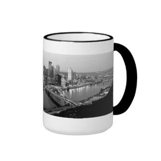 Horizonte de Pittsburgh Taza De Café