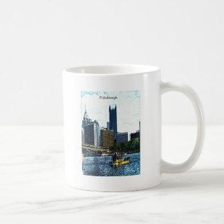 Horizonte de Pittsburgh Taza Clásica