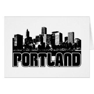 Horizonte de Portland Felicitacion