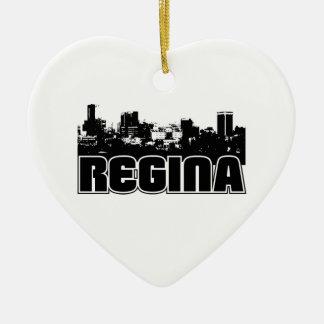 Horizonte de Regina Adorno De Cerámica En Forma De Corazón