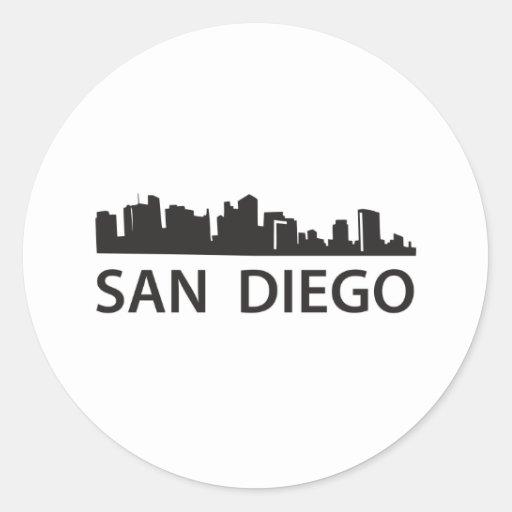 Horizonte de San Diego Pegatinas