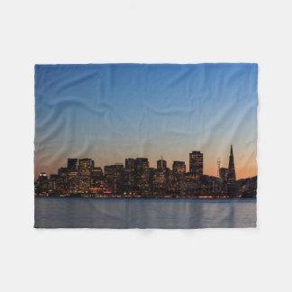 Horizonte de San Francisco en la manta del paño Manta De Forro Polar