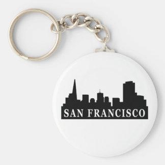 Horizonte de San Francisco Llavero Personalizado