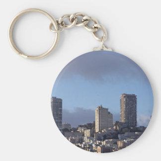 Horizonte de San Francisco Llaveros Personalizados