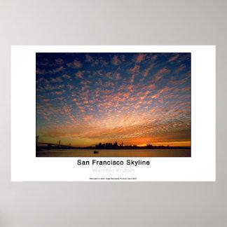 Horizonte de San Francisco Impresiones