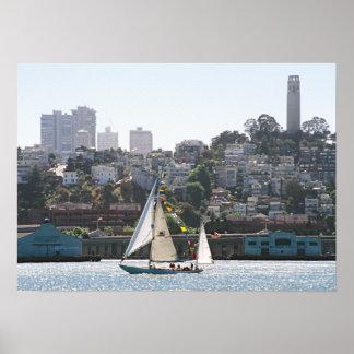 Horizonte de San Francisco Poster
