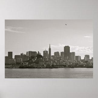 Horizonte de San Francisco Póster