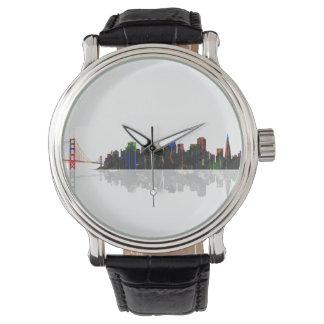 HORIZONTE de SAN FRANCISCO - reloj
