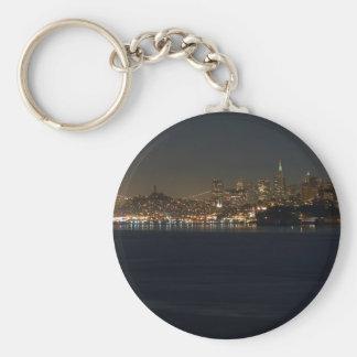 Horizonte de San Francisco visto de enfrente de la Llavero Personalizado