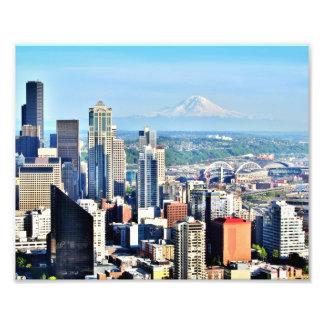 Horizonte de Seattle Fotos