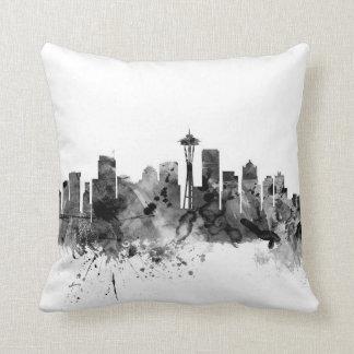 Horizonte de Seattle Washington Cojines
