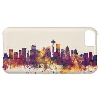 Horizonte de Seattle Washington Funda Para iPhone 5C
