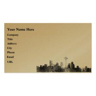 HORIZONTE de SEATTLE WASHINGTON - tarjetas de Tarjetas De Visita