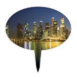 Horizonte de Singapur Decoración De Tarta