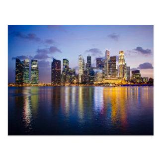 Horizonte de Singapur Postales