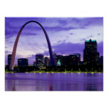 Horizonte de St. Louis Impresiones