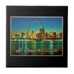 Horizonte de St. Louis Missouri Azulejos