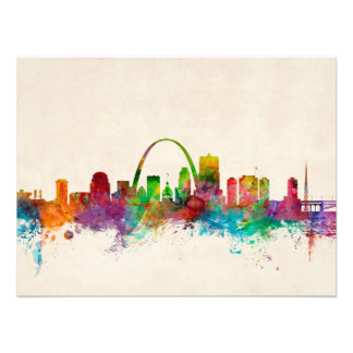Horizonte de St. Louis Missouri Cojinete